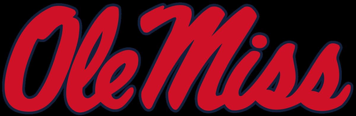 Ole Miss Rebels Logo SEC.