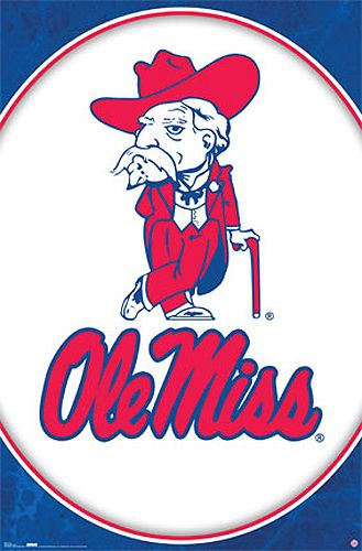 Ole\' Miss Colonel Reb Official University of Mississippi.