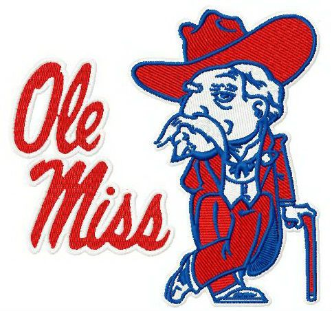 Ole Miss Rebels logo 3.