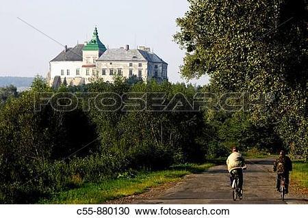 Stock Photography of Olesko,castle,1327,Lviv/Lvov Oblast,Western.