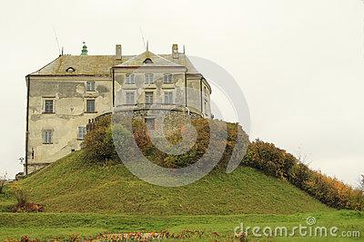 Olesko Castle, Western Ukraine Editorial Photo.
