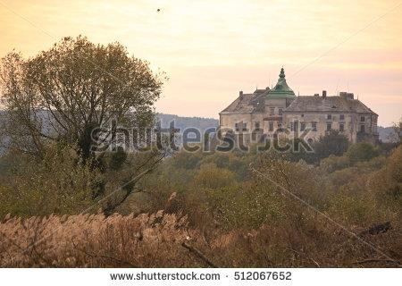 Olesko Castle Stock Photos, Royalty.