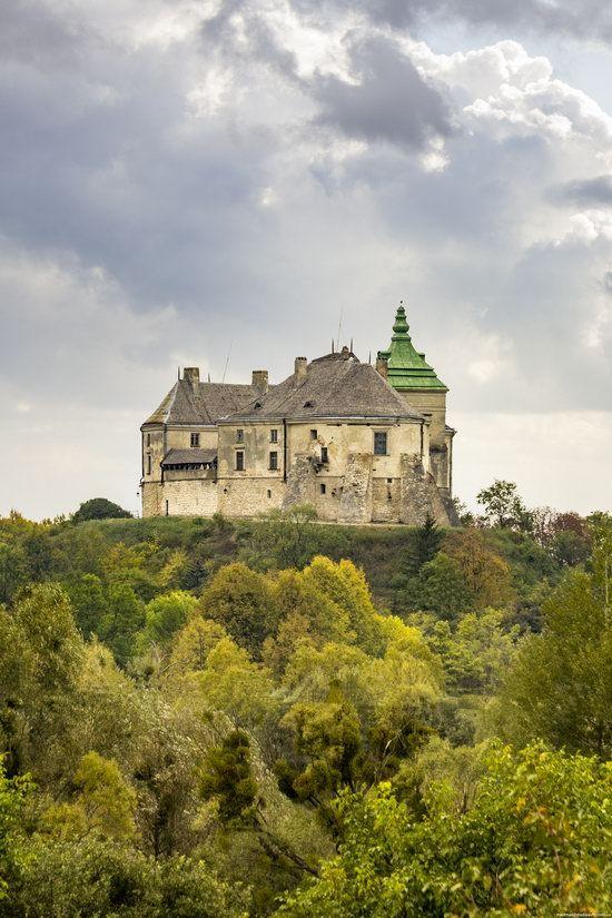 Olesko Castle in the Lviv region, Ukraine.