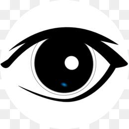 Renas Olhos Clipart fundo png & imagem png.