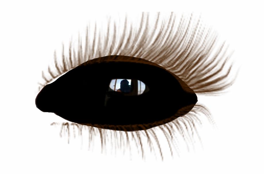 Black Eye Olho Negro Demon Demnio Supernatural Realistic.