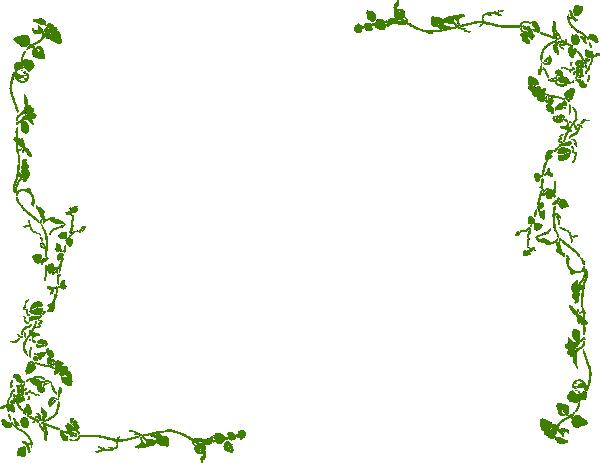 Clip art olive branch border.