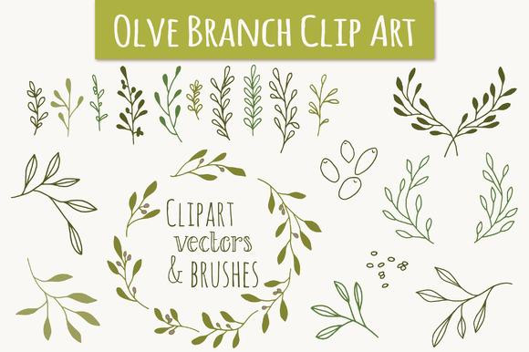 Olive Branch Clip Art & Vectors.