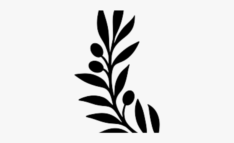 Single Clipart Olive Branch.