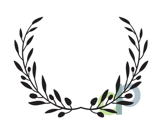 414 Olive Branch free clipart.