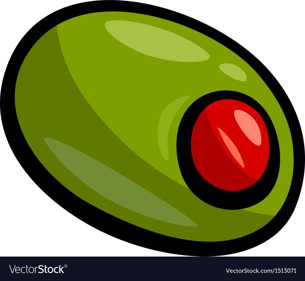 Olive clip art cartoon.