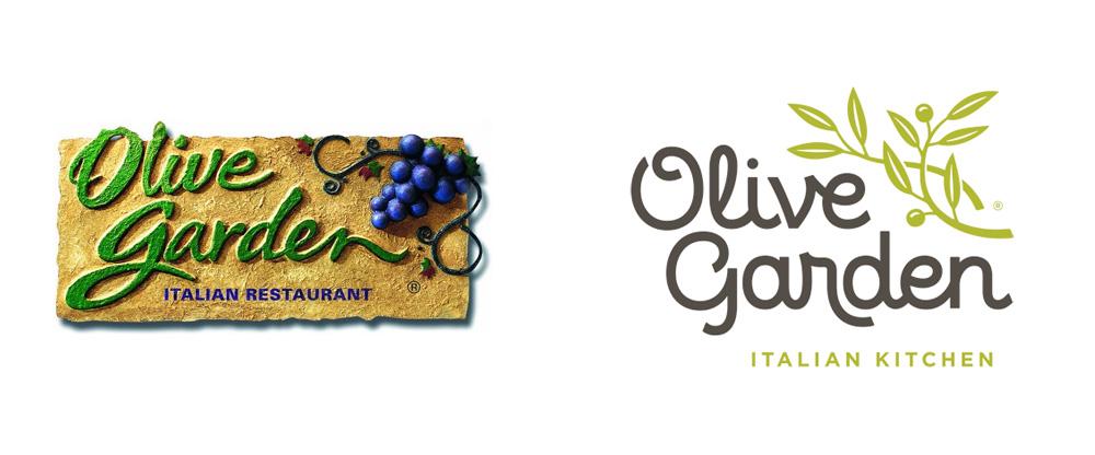 Brand New: New Logo for Olive Garden.