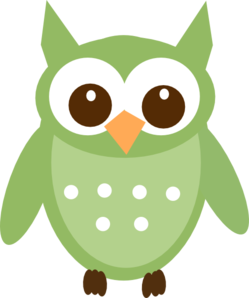 Olive Green Owl Clip Art at Clker.com.