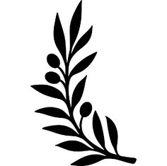 Olive leaves clipart 1 » Clipart Station.