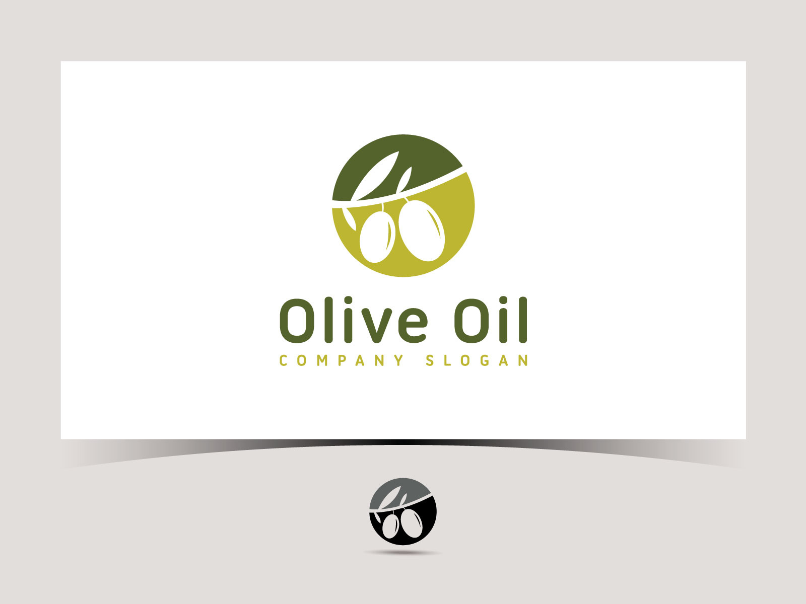 Olive oil vector logo design by Graph Squad on Dribbble.