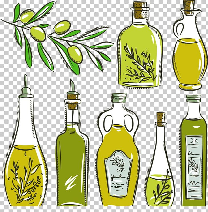 Olive Oil Bottle PNG, Clipart, Cooking Oil, Decorative.