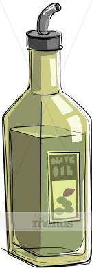 Italian Olive Oil Clipart.