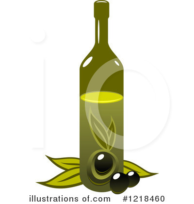 Olive Oil Clipart #1218460.