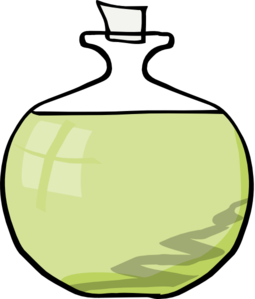 Olive Oil Cartoon Clipart.