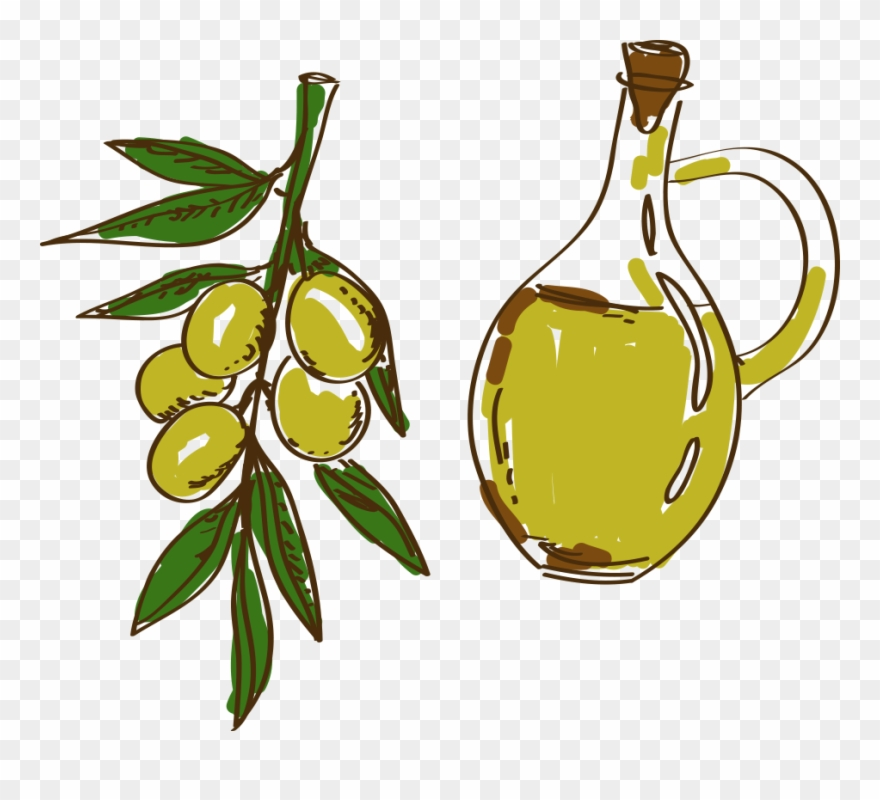 Olive Oil Painted Transprent Png Free Download.