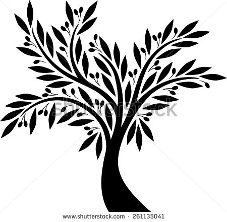 Olive root clipart #12