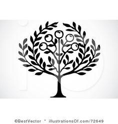 simple olive tree.