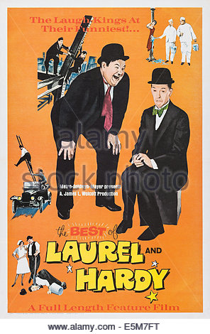 Oliver Hardy And Stan Laurel On.