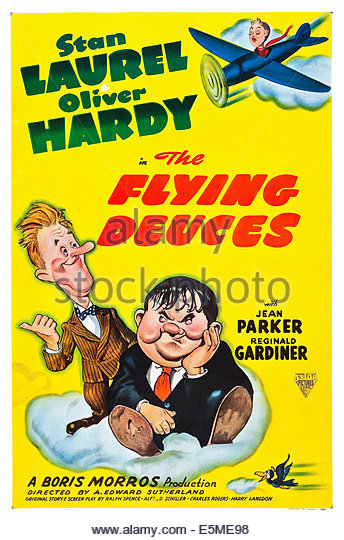 Stan Laurel Oliver Hardy Poster Stock Photos & Stan Laurel Oliver.