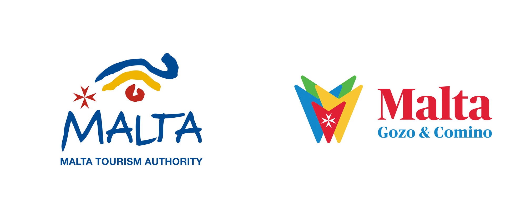 Brand New: New Logo and Identity for Malta by OLIVER.