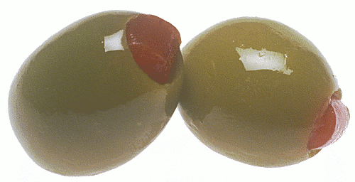 Brown olives clipart.