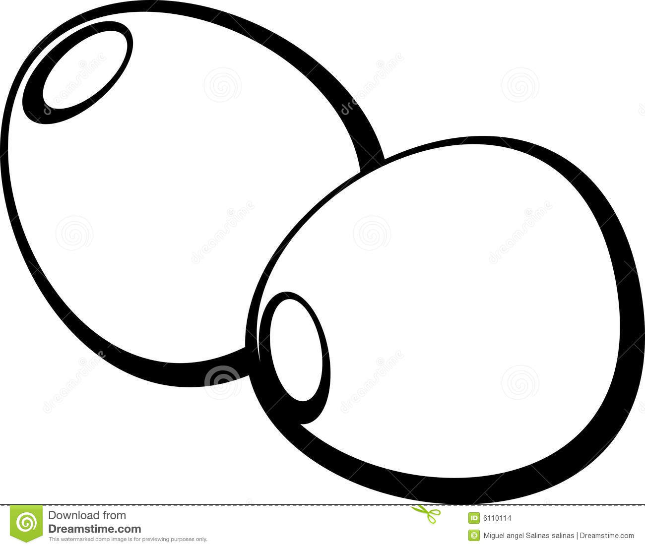 Olive Clipart Black And White.
