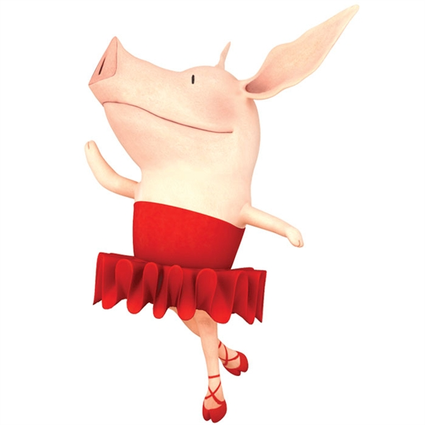 Olivia The Pig Clipart.