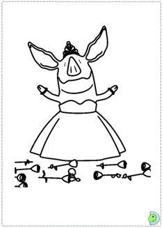 Olivia Clipart Pig.