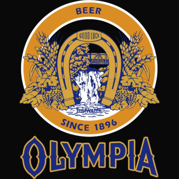 Olympia Beer blue Men\'s Tank Top.