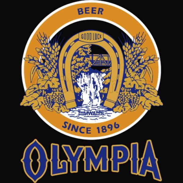 Olympia Beer blue Men\'s Tank Top.