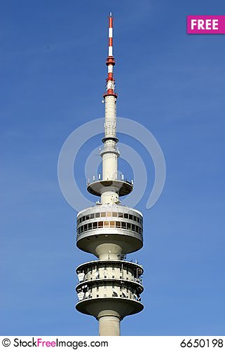 Olympic Tower In Munich.