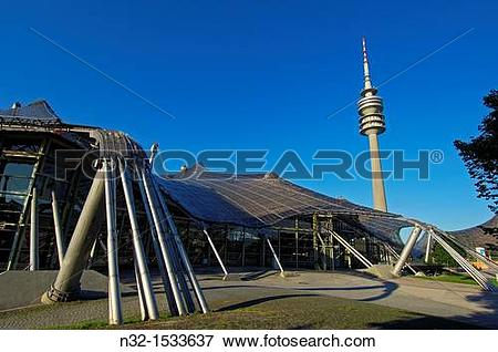Picture of Munich, Olympiapark, Olympia Park, Olympic Park.