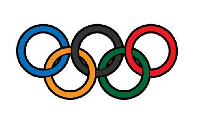 Olympic Rings SVG clipart cut files. Best for cricut. Each.