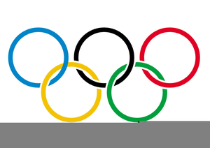 Olympic rings clipart free » Clipart Station.