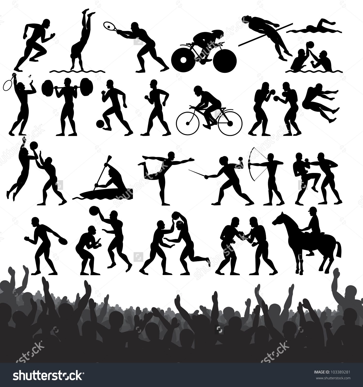 Olympic Game Clipart.