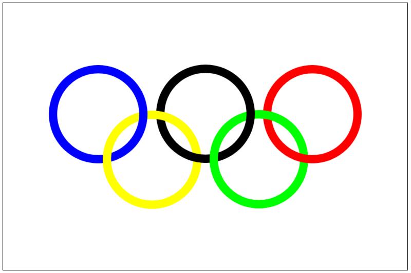 Olympic Rings Clip Art.