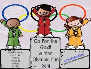 Winter Olympics Clipart Kids.
