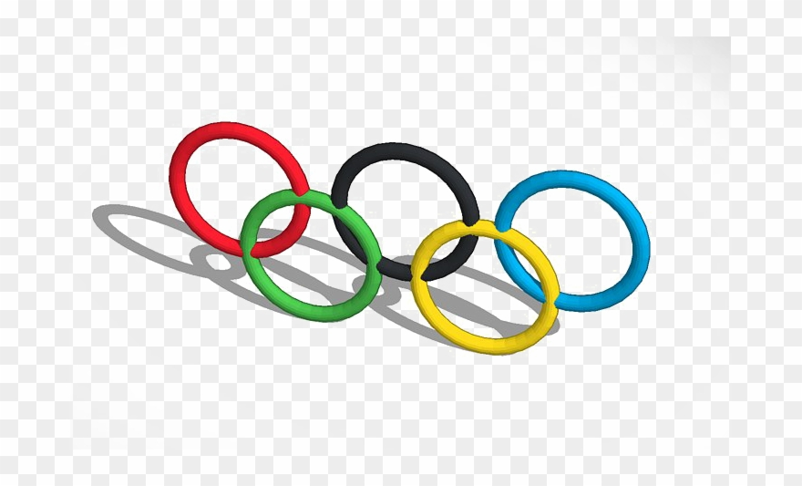 Olympic Rings Png Image With Transparent Background.
