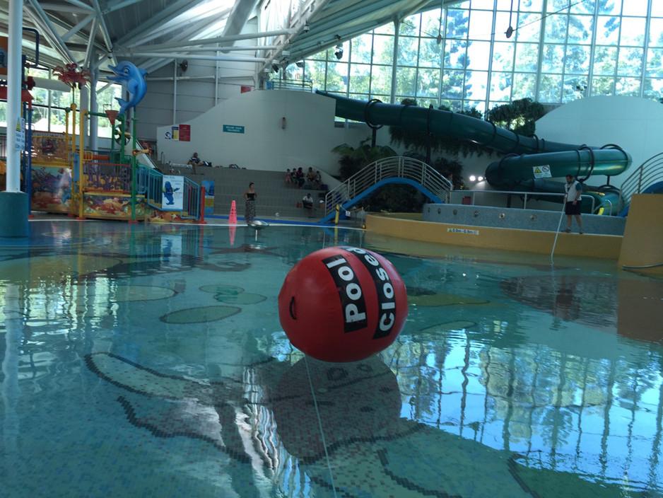 Sydney Olympic Park Aquatic Centre in Sydney Olympic Park, NSW.