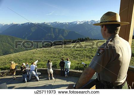 Stock Photo of WA, Washington, Olympic Peninsula, Olympic National.