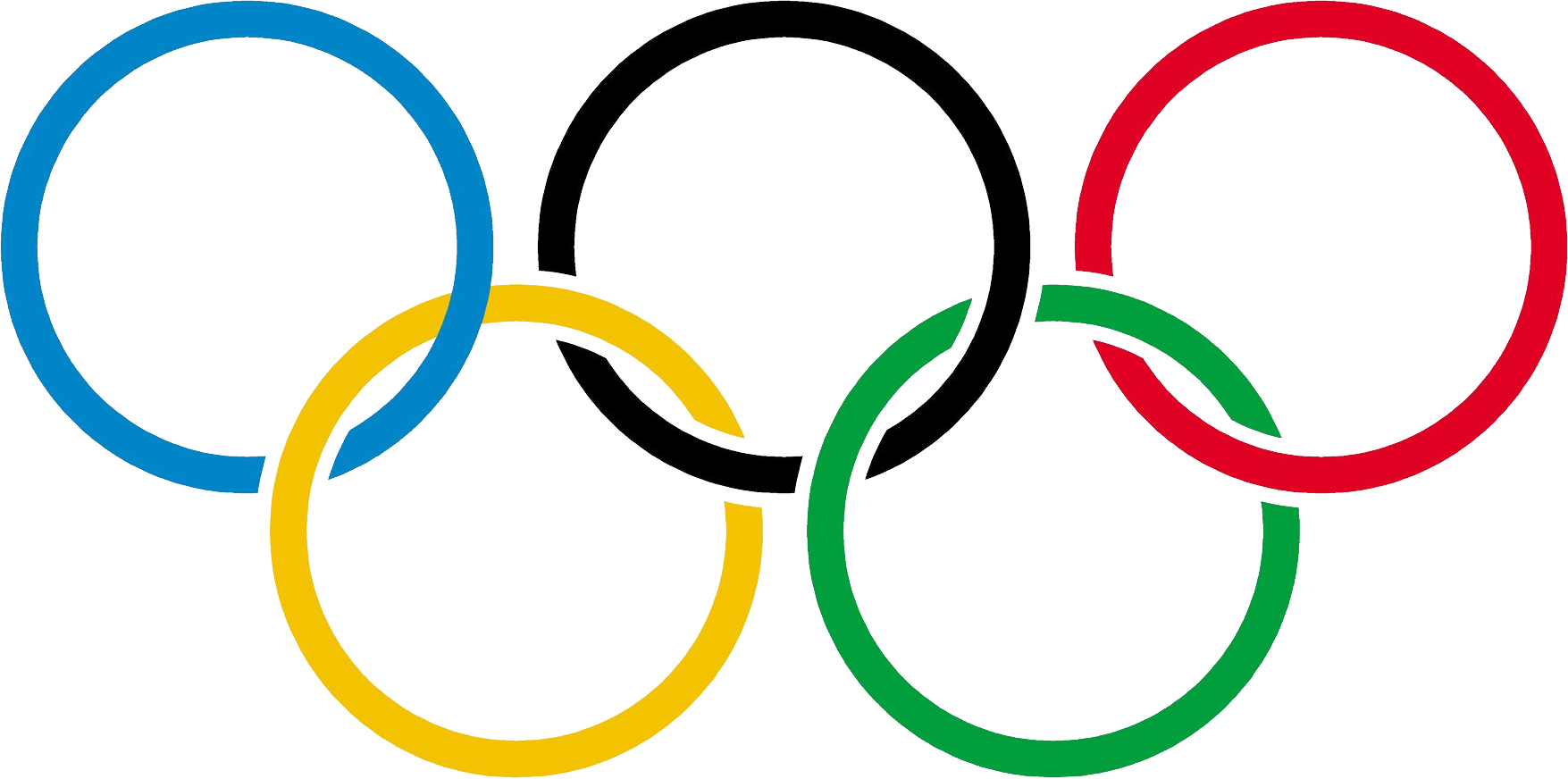 Olympic rings PNG images free download.