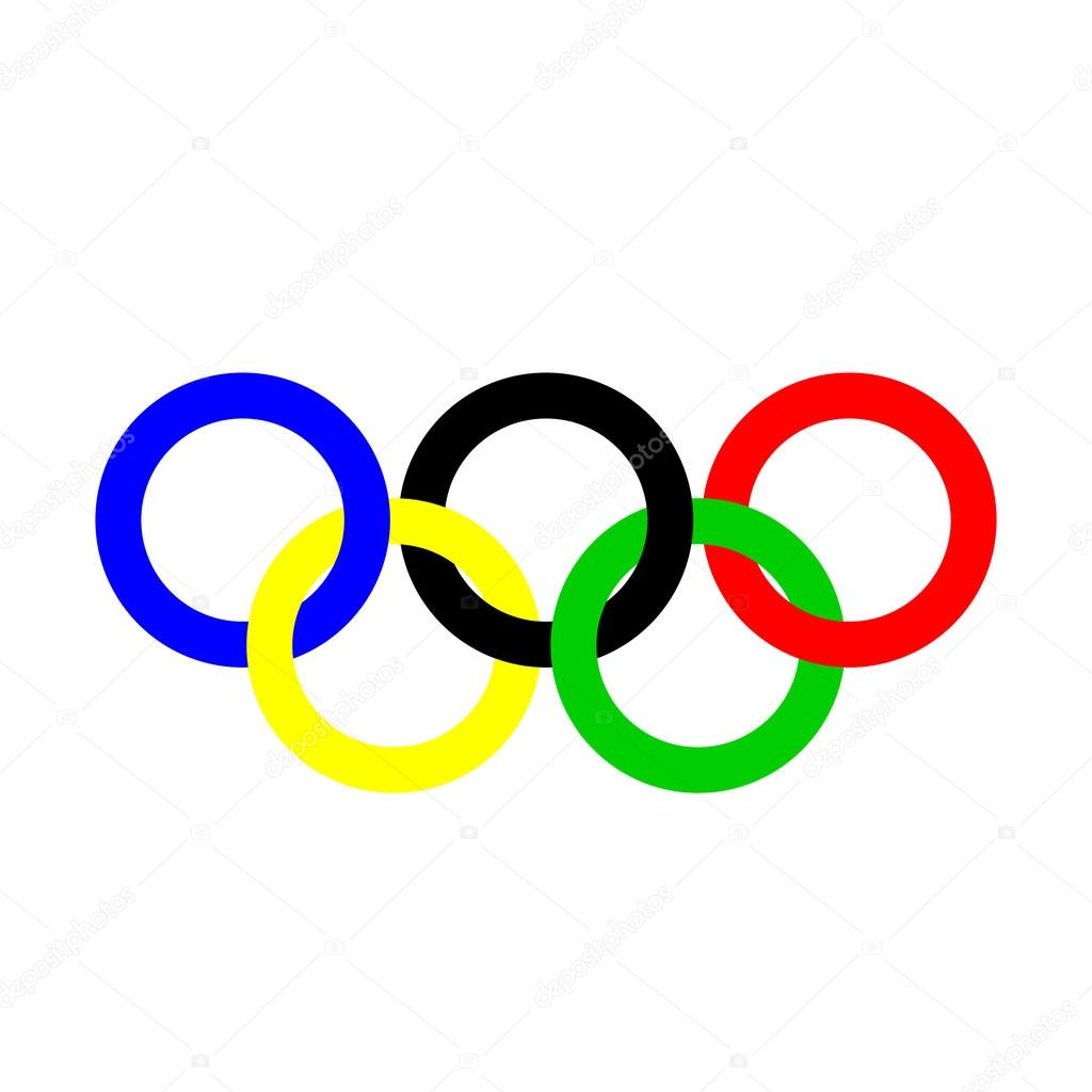 Olympic rings. Olympics circles. — Stock Vector © gabylya89 #107549856.