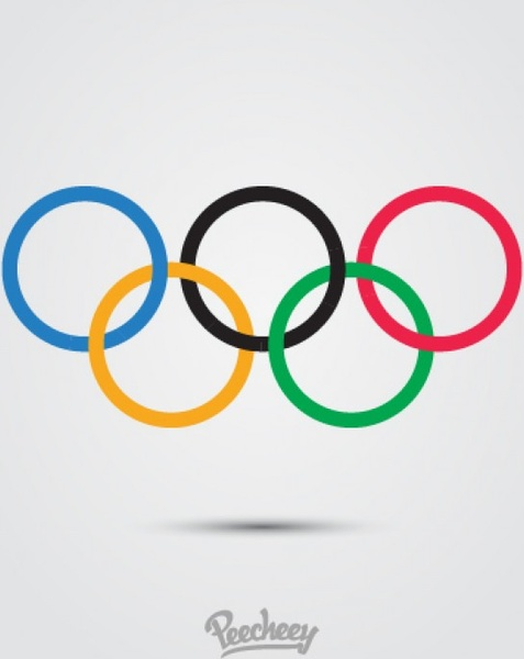 Olympic rings logo Free vector in Adobe Illustrator ai ( .ai.