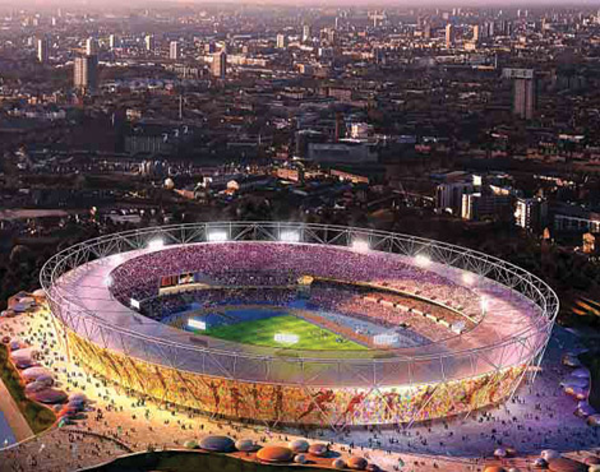 Olympic Stadium Large X.