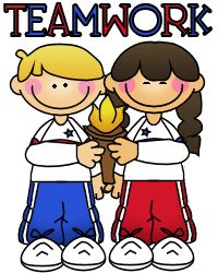 Olympic clipart kids.