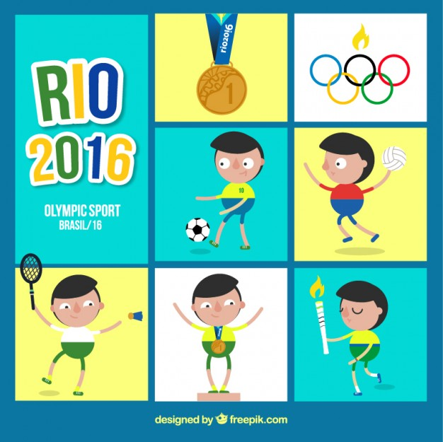 Olympic Vectors, Photos and PSD files.